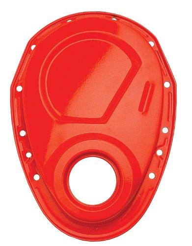 Trans Dapt Timing Cover - Trans-Dapt 9915 Orange Powdercoat Timing Chain Cover