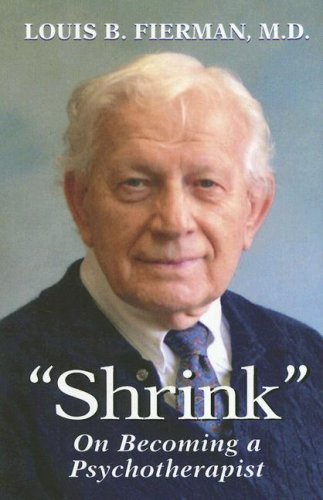 """Download """"Shrink"""": On Becoming a Psychotherapist PDF"""