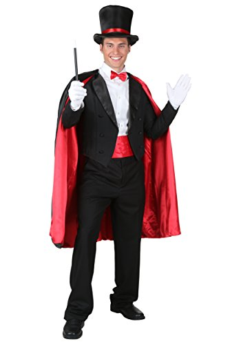 Adult Magic Magician Costume Medium (Cummerbund Costume)