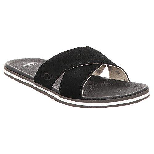 UGG Zapatos Beach Sandalias Chanclas Negro Hombre Negro