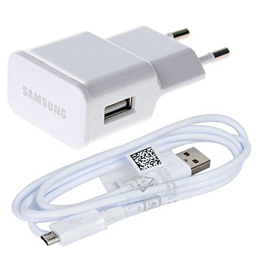 Original Weiß 2000 mAh ( 2 Amp ) Samsung Micro USB 2 Pin Netzladegerät an Bulk Verpackung Geeignet für Samsung Galaxy Tab S2 9.7, Galaxy Tab S2 8.0