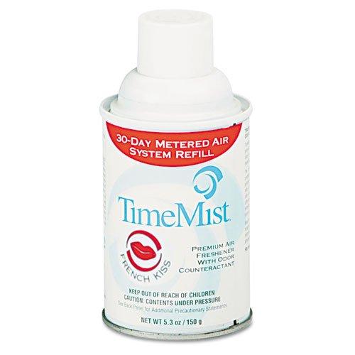 TimeMist Metered Fragrance Dispenser Refills, Assorted Fragrances, 6.6 oz - twelve 6.6 oz aerosol cans per (Timemist Aerosol)