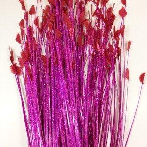 Bush Onion Grass - De Yi Enterprise 44014-HP Laser Onion Grass Spray Bush - 29 in. - Hot Pink