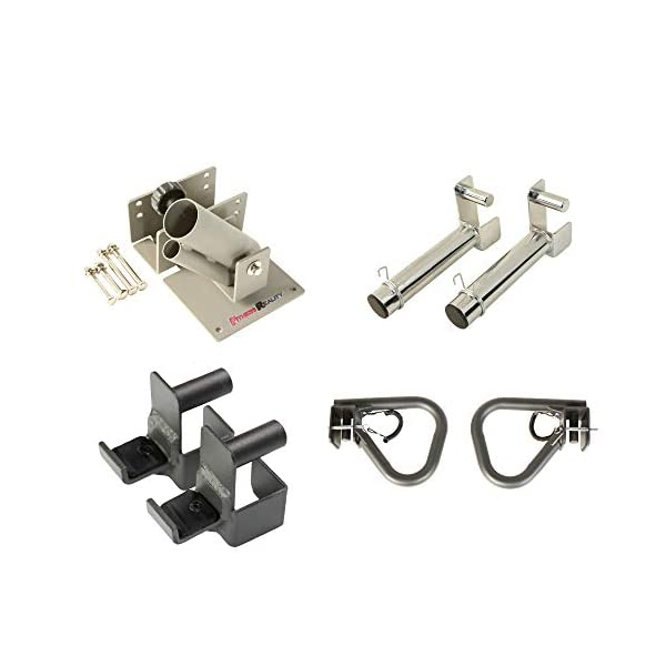 Fitness Reality 2819 Attachment Set for 2″x2″ Steel Tubing Power Cages