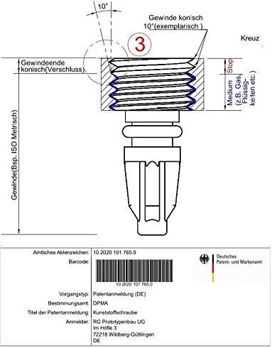 mt2 2 x Purge Vis avec metallkern adapté pour Magura t25 Mts mt4,