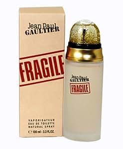 Fragile By Jean Paul Gaultier For Women. Eau De Toilette Spray 3.3 Ounces