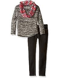 "Kensie Big Girls' ""Aztec Knit"" 3-Piece Outfit"