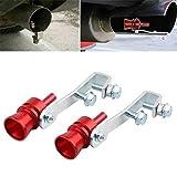 Car Auto Exhaust Sound Whistle Maker, 2pc Exhaust