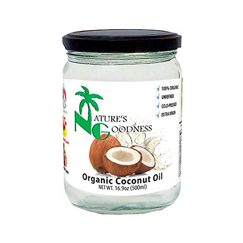 Nature's Goodness Organic Coconut Oil, 16.9 Ounce