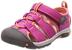 This supportive sandal can take anything a kid can dish out. An adjustable hook-and-loop strap lets kids put them on themselves, and quick-drying webbing is perfect in and out of the water.