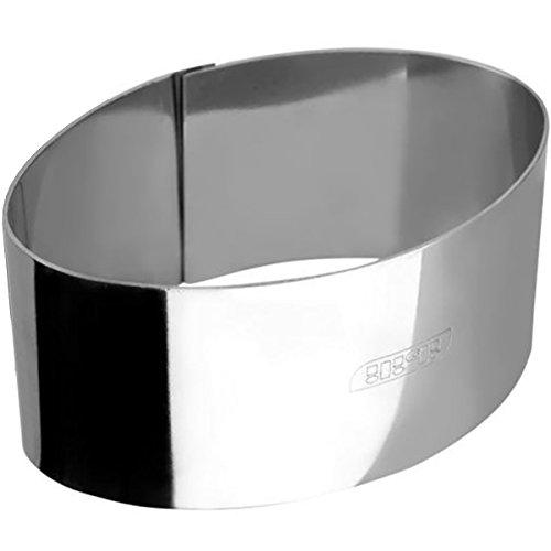 IBILI 727810 - +Aro De Emplatar Oval Inox 10, 50X6X4, 50