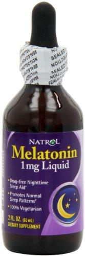 Natrol Melatonin Liquid Fluid Ounce