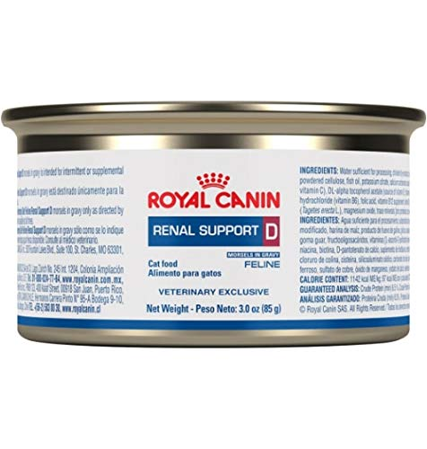 Royal Canin Renal Support D MIG Can Cat Food (24/3oz cans) by Royal Canin