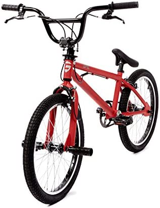 CLOOT Bicicletas BMX- Bici BMX Level Roja con Manillar rotativo y ...