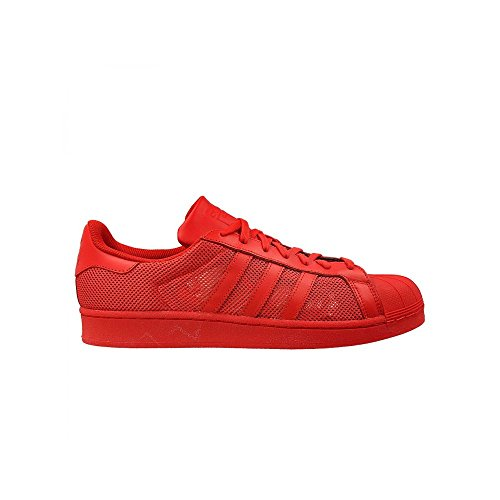 adidas Originals Superstar Chaussures Rouge B42621, Taille:46 2/3