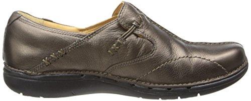 Clarks no estructurados Un.loop Resbalón-en el zapato Bronze leather