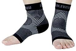 BLITZU Plantar Fasciitis Socks with Arch...