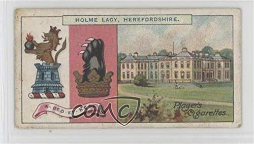 The Earl of Chesterfield Ungraded COMC Good to VG-EX (Trading Card) 1910 Player's Country Seats & Arms 3rd Series - Tobacco [Base] #144