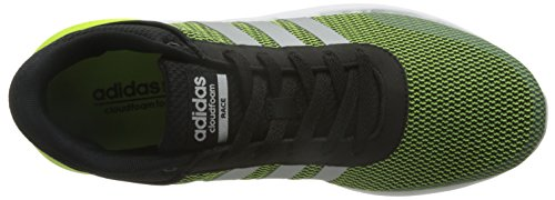 Adidas Mænd Cloudfoam Løb Fitness Sko, Sort, 42 Eu Gul (gul (amasol / Plamat / Negbas))