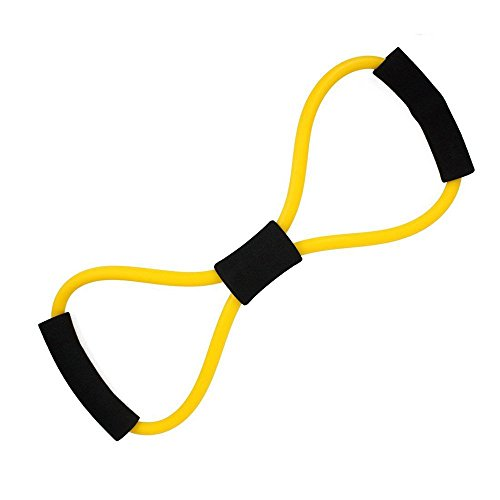 MINGTU Resistance Bands Set with Exercise Tube Bands, Good Tube Bands for Body Shaping, Training, Physical Therapy- 100% Life Time Guarantee (Figure 8 Resistance (Figure 8 Shape)