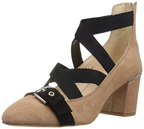 Nine West Women's Andrew Suede Dress Pump, Natural Multi, 8 M US 25025022