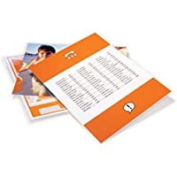 GBC Laminating Sheets / Pouches, HeatSeal Ultra Clear, Letter Size, 11-1/2x9, 3 Mil, 100 Pack (3200401)