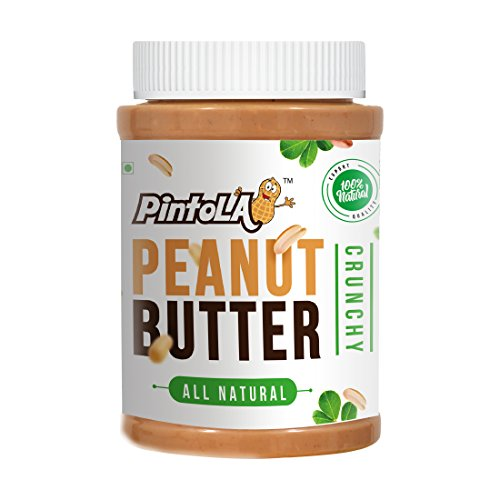 All Natural Peanut Butter 1 KG Value Pack (Crunchy) by PINTOLA