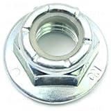 """Hard-to-Find Fastener 014973456931 Flange Lock Nuts Grade 5 (12 Piece), 3/8-16"""""""