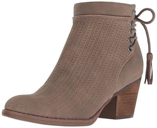 (Roxy Women's Devon Embossed Fashion Boot, Charcoal, 8.5 M)