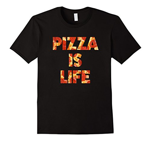 Pizza Is Life Funny National Pizza Day Foodie T Shirt