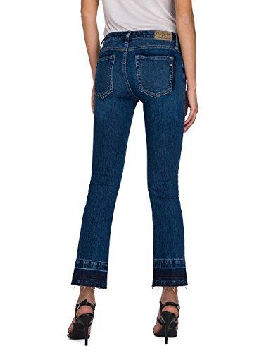 blue Denim Bootcut Jeans Blu 9 Replay Donna Dominiqli qaSxwXY
