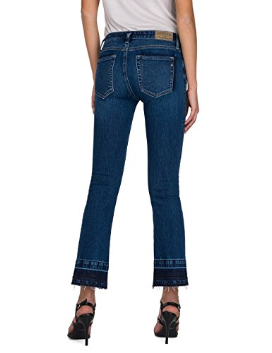 Denim Blu Dominiqli Replay 9 Bootcut blue Donna Jeans YZBZwH6qz