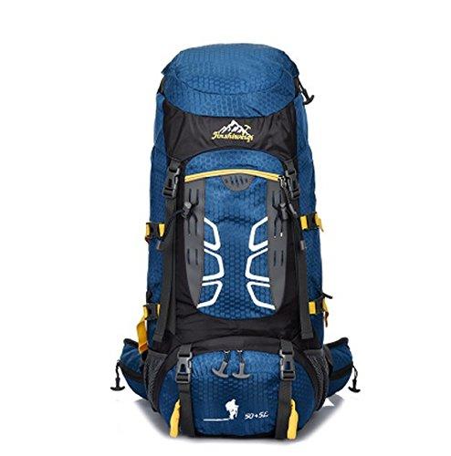Trekking Rucksack Multifunktions Travel Backpack Outdoor Rucksack Bergsteigen Rucksack Trekking Rucksack große Kapazität Navy Blue x553mD93Wl