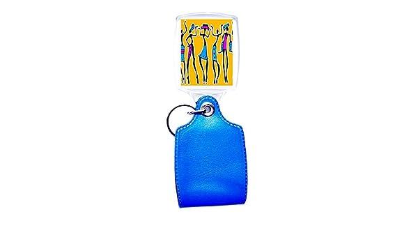 Llavero azul étnico 2: Amazon.es: Hogar