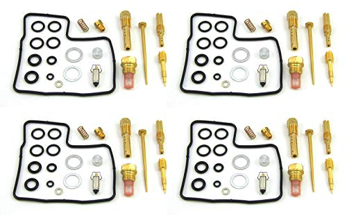 (Damineding 4 X Carburetor Carb Repair Rebuild Kit 84-87 GL1200 Goldwing 1200 Aspencade Interstate)