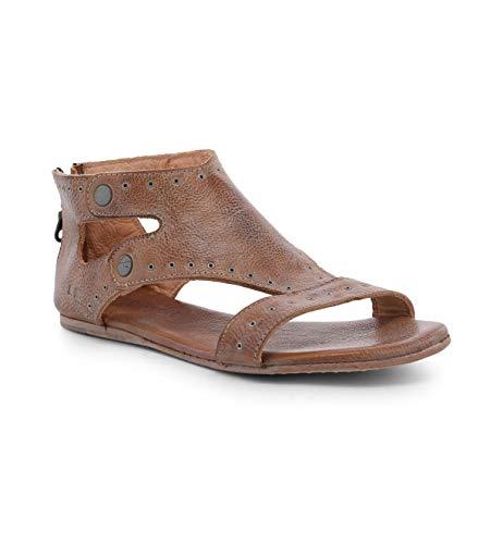 Bed|Stu Women's Soto G Leather Sandal (9 M US, Tan Mason)