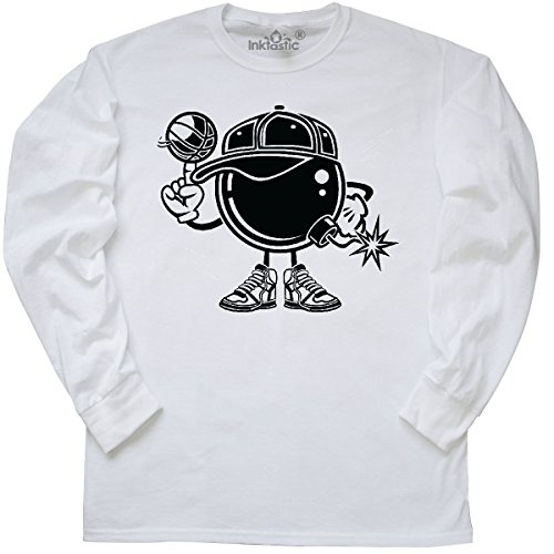 inktastic - Basketball Bombers Long Sleeve T-Shirt Small (Bomber Long Sleeve T-shirt)