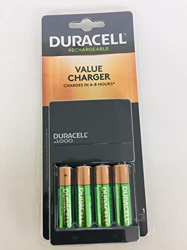 - Duracell Value Charger With 4aa Rechargeables Battery, 4 Count