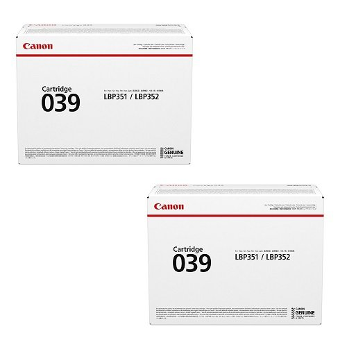 CANON トナーカートリッジ039 2本セット 純正品 B01N0D1HVF