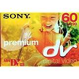 SONY Mini cassette video Premium DV 60 min