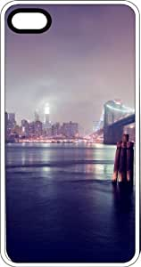 Bridge To The City White Plastic Case for Apple iPhone 4 or iPhone 4s by Maris's Diary