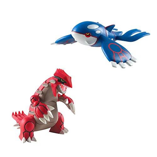 Pokémon Multi Legendary Figure Pack, Groudon And Kyogre