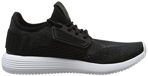 Mesh Black Sneaker Puma Schwarz Puma 01 Unisex Erwachsene Uprise SwtH6q