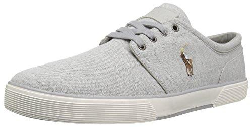 Polo Ralph Lauren Mens Faxon Sneaker Basso Grigio 1
