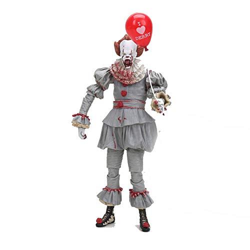 (PLAYER-C 18Cm Horro Stephen Kings It Pennywise Joker Clown Bjd Action Figure Toys Dolls Cosplay Halloween)
