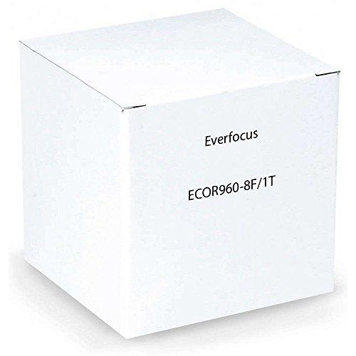 Everfocus ECOR960H 8 Channel Surveillance DVR, 1TB Hard