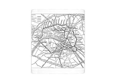 Black And White Subway Map.Amazon Com Mug Of Antique Engraving Illustration Paris Subway