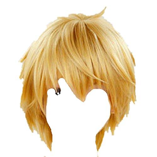 Shizuo Cosplay Costume (DURARARA Shizuo Heiwajima Blonde cosplay costume wig)