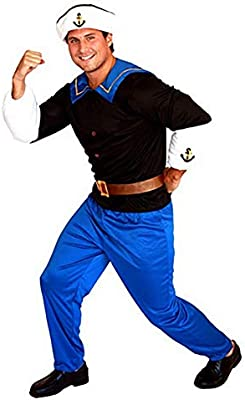 IFANSTYLE Popeye Equipaggio Traje De Cosplay Halloween Carnaval ...