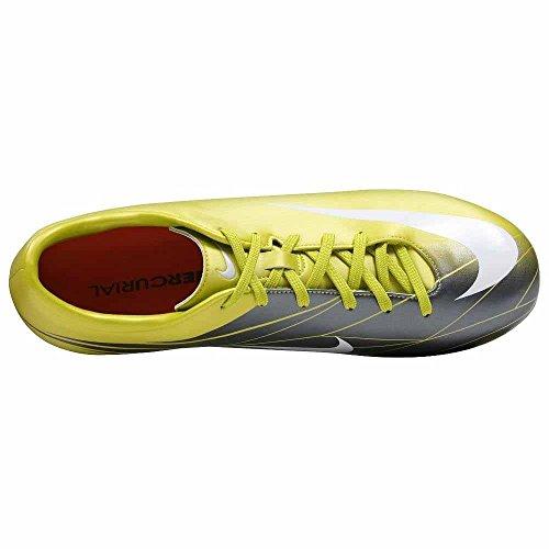 Nike Mercurial Miracle Firm Terrain De Football Bottes Jaune
